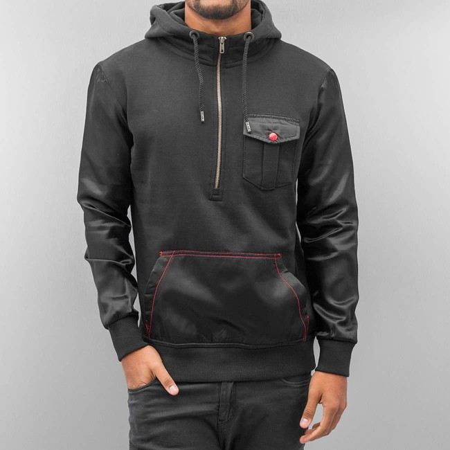 JUST RHYSE Толстовка Mix Hoody Black