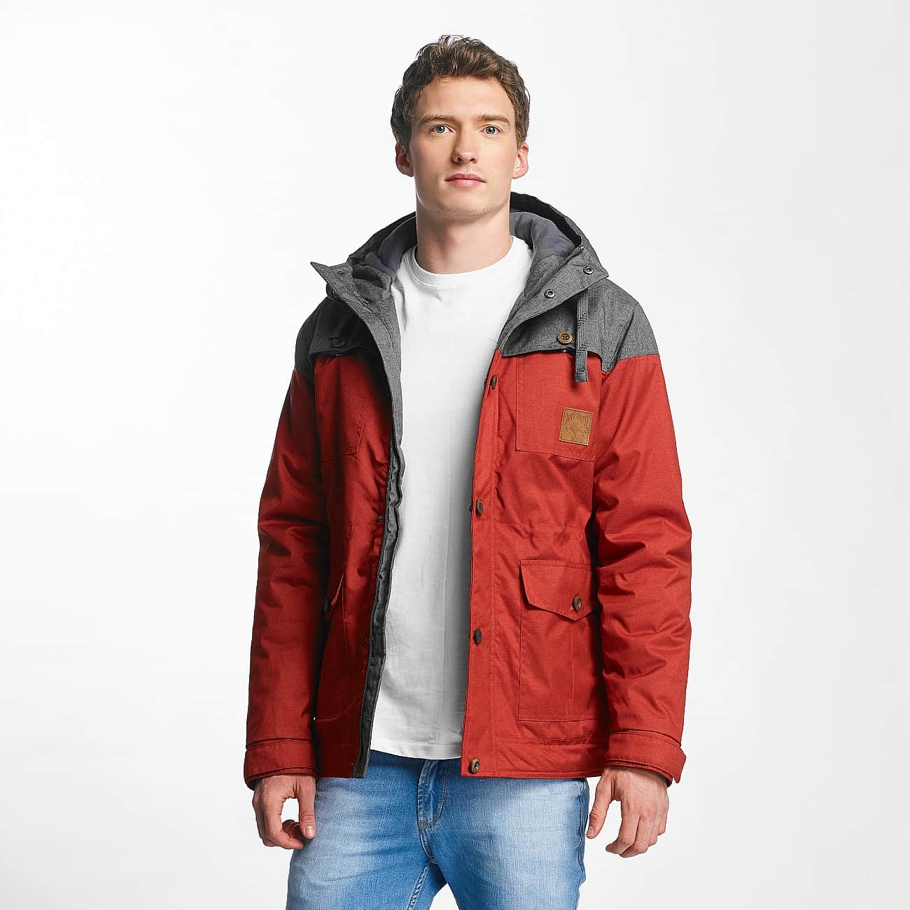 JUST RHYSE Куртка Warin red\grey