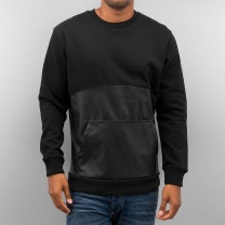 BANGASTIC Толстовка PU Leather Sweat Black