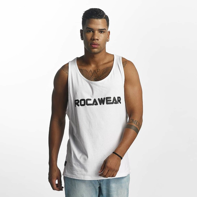 ROCAWEAR Майка Color Block White