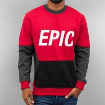JUST RHYSE Толстовка Epic red/grey