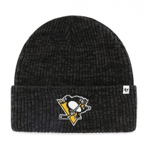 Шапка 47BRAND BRAIN FREEZE CUFF KNIT Pittsburgh Penguins Black