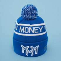 Шапка MOSCOW MONEY MAKERS Blue