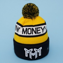 Шапка MOSCOW MONEY MAKERS Yellow