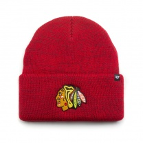 Шапка 47BRAND BRAIN FREEZE CUFF KNIT Chicago Blackhawks Red