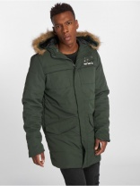Куртка Who Shot Ya? Winter Jacket Battle Bass olive