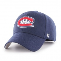 Бейсболка 47BRAND MVP Montreal Canadians Light Navy