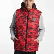 Жилет WHO SHOT YA? BigWho Quilted Vest Red Camouflage
