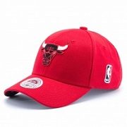 Бейсболка MITCHELL & NESS STRETCH WOOL FITTED Chicago Bulls