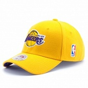 Бейсболка MITCHELL & NESS STRETCH WOOL FITTED Los Angeles Lakers