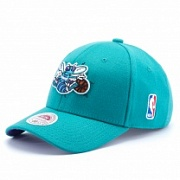 Бейсболка MITCHELL & NESS STRETCH WOOL FITTED Charlotte Hornets