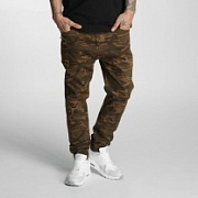 WHO SHOT YA? Джинсы Antifit Genius Brown Camo