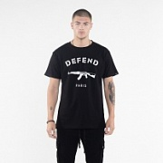Футболка DEFEND PARIS TEE black