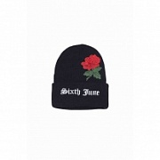 Шапка SIXTH JUNE Logo and Rose