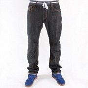 GRIMEY Джинсы CLASSIC DENIM RAW BLACK